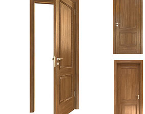 Brown Door 3D model