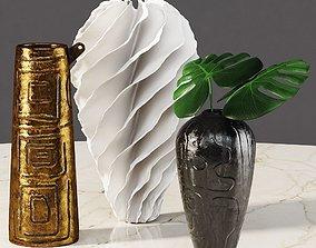 3D model Omec vases and Sandra Davolio vase
