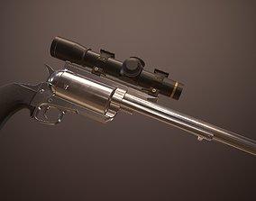 3D asset 45-70 Govt Big Frame Revolver
