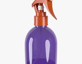 bottle 200ml spray 3D model