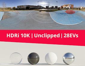 HDRi - Basket and Buildings 3D