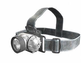 flashlight 3D model realtime