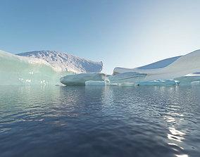 3D model iceberg Icescape