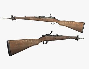 Type 97 Sniper Rifle 3D asset