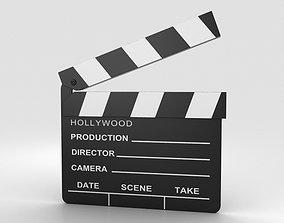 Clapperboard 3D filmmaking