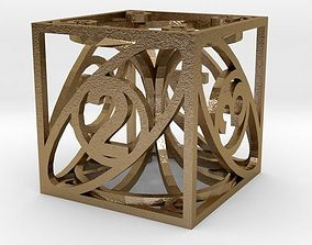 Dice 3D printable model toys