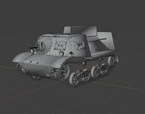 3D asset T-20 Komsomolec