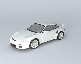 Porsche 911 GT2 Type 997 2009 3D model