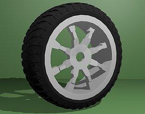 auto tire 3D model
