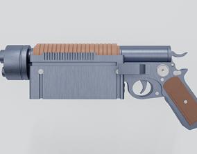 3D scifi guns
