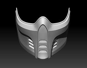 Sub Zero mask for cosplay Mortal Kombat 11 3D print model