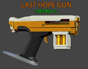 3D print model LAST HOPE Gun from Destiny 2