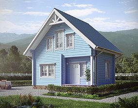 House 60m 3D model