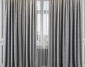 Curtain Set 329 3D
