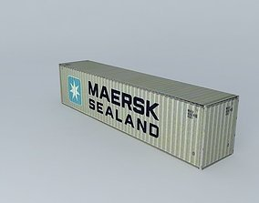 3D Maersk Sealand Container 40