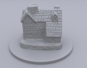 parfume 3D printable model house