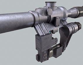 3D asset RIFLE SCOPE PSO-1