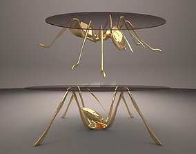 Ant Coffee Table Concept 3D model