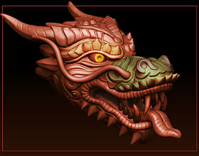 Dragon-Head 3D printable model