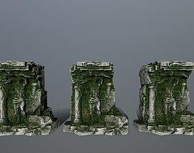 statue 3D model realtime