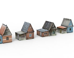 Country Houses 3D model