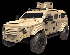3D asset Terradyne Gurkha lapv