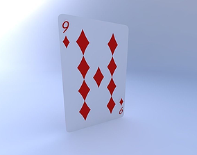 3D Nine of Diamonds