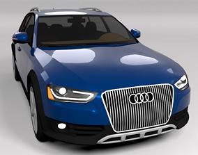 3D model AUDI A4 ALLROAD 2012 LOWPOLY