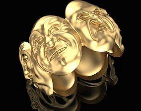 3D print model Ring of Emotion