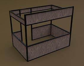 Stall stand 09 R 3D asset