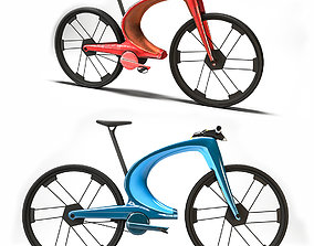 Scifi Bicycle 3D asset realtime