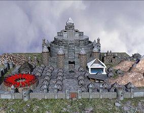 City castle 3D model