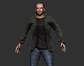 ears Man Character 3D
