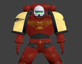 3D warhammer space marine 1