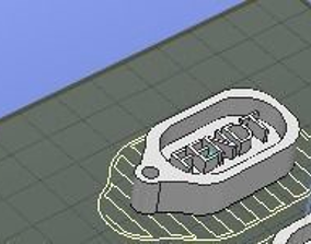 3D print model Fendt Keychain
