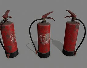 hvac-equipment 3D asset VR / AR ready Fire Extinguisher