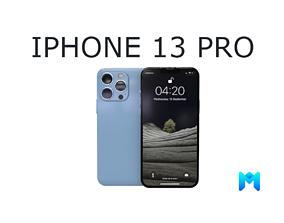 3D model 2021 iphone 13 pro game asset