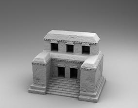 Stone build of Maya 3D print model