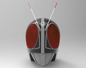 Black Kamen Rider RX for 3D Printing