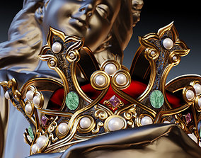 3D model Queens Crown Redux