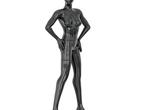 Faceless woman mannequin 37 3D