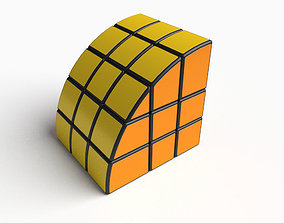 Rare cube puzzle toy 3D