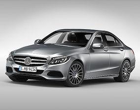 3D model Mercedes Benz C Class 2015