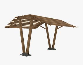 Wood Canopy 3D