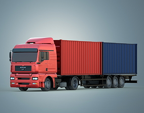 3D model Cargo Vehicle