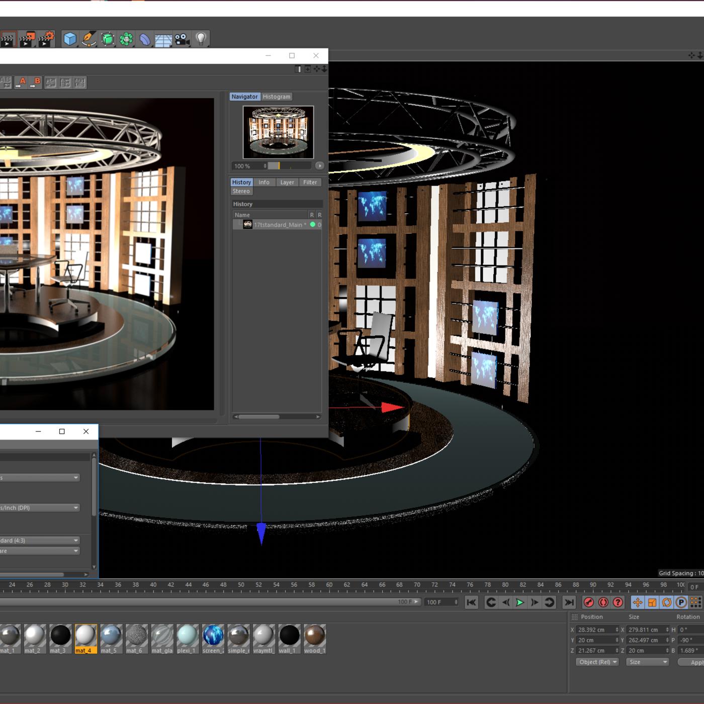 3D Virtual TV Studio Sets - Collection Vol 13 - 8 PCS DESIGN