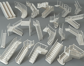 3D Stairs - Part - 4 - 19 pieces