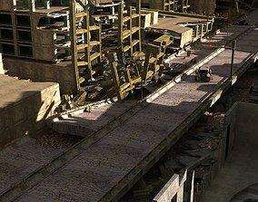 zombie city 2020 3D model