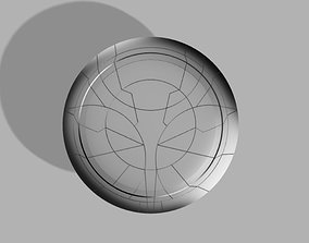 Taskmaster Shield From Black Widow 2021 to 3d Print