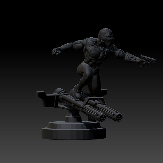 deadstroku fighter enemy of batmen